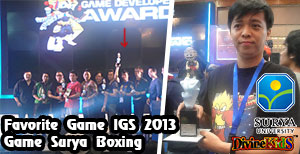 Divine Kids FAVORITE GAME IGS 2013 (Indonesia Game Show - Game Developer Award 2013)