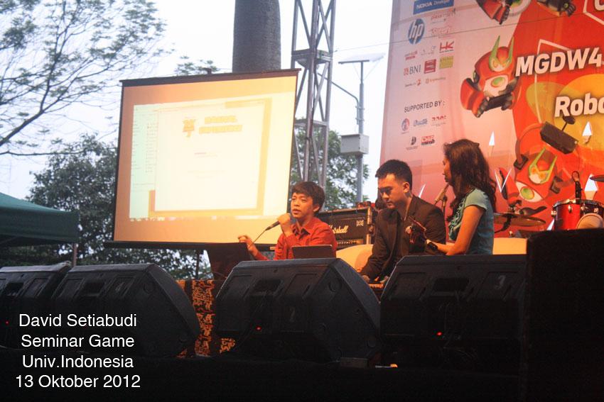 Divine Kids Seminar Game Universitas Indonesia