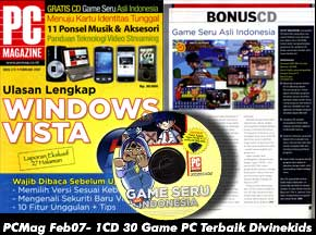 Divine Kids Majalah PC Magazine